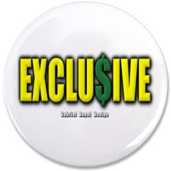 """Exclusive 3.5"""" Button"""