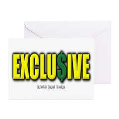 Exclusive Greeting Cards (Pk of 20)