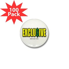 Exclusive Mini Button (100 pack)