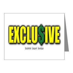 Exclusive Note Cards (Pk of 20)