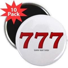 """777 2.25"""" Magnet (10 pack)"""