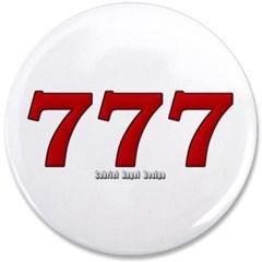 """777 3.5"""" Button"""