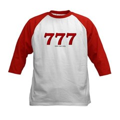 777 Kids Baseball Jersey T-Shirt