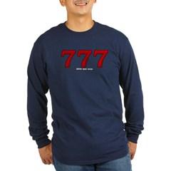 777 Long Sleeve Dark T-Shirt