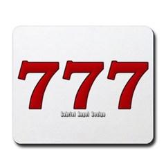 777 Mousepad