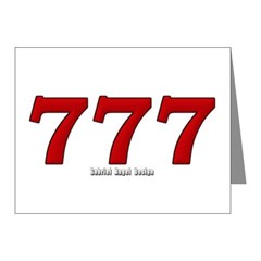 777 Note Cards (Pk of 20)