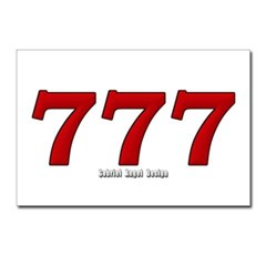 777 Postcards (Package of 8)