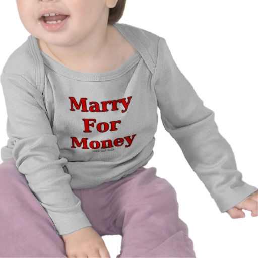 Marry for Money Infant Bella Long Sleeve T-Shirt