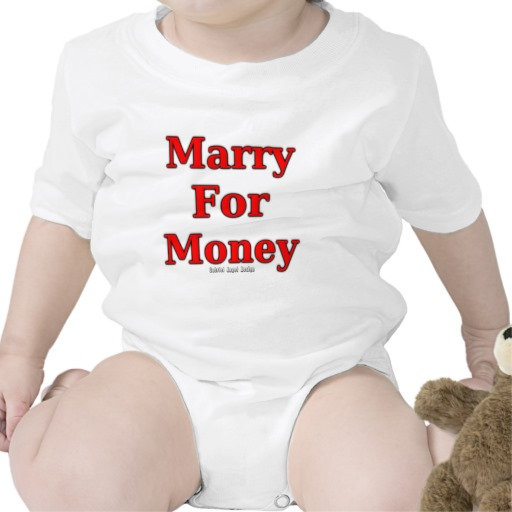 Marry for Money Infant Creeper