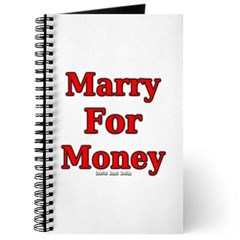Marry for Money Journal
