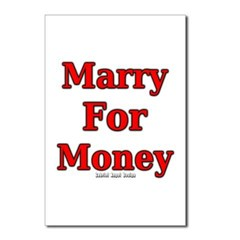 Marry for Money Postcards (Package of 8)