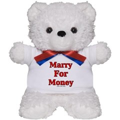 Marry for Money Teddy Bear
