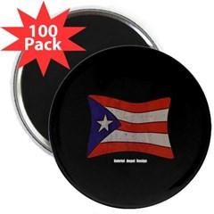 """Puerto Rico Flag Graffiti 2.25"""" Magnet (100 pack)"""