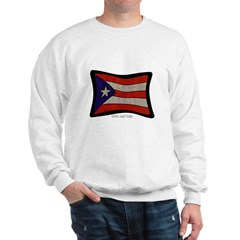 Puerto Rico Flag Graffiti Sweatshirt