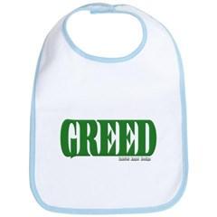 Greed Logo Baby Bib