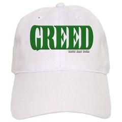 Greed Logo Baseball Cap