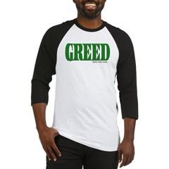 Greed Logo Baseball Jersey T-Shirt