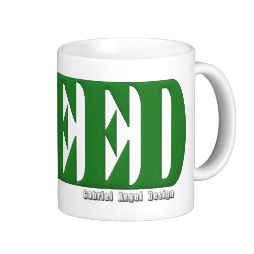 Greed Logo Classic White Mug