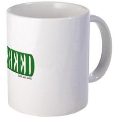 Greed Logo Coffee Mug
