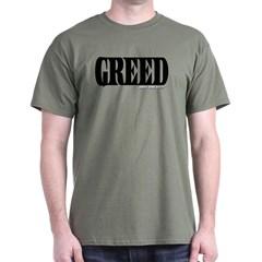 Greed Logo Dark T-shirt