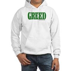 Greed Logo Hooded Sweatshirt