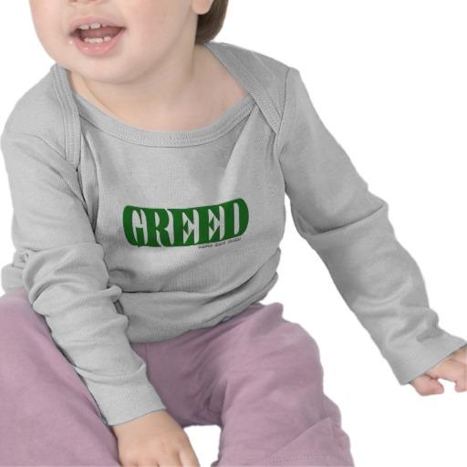 Greed Logo Infant Bella Long Sleeve T-Shirt
