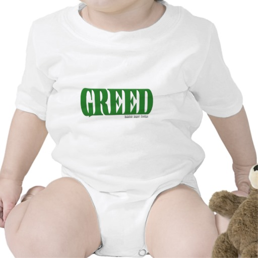 Greed Logo Infant Creeper