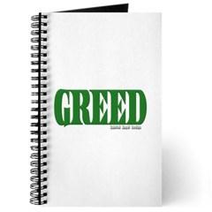 Greed Logo Journal