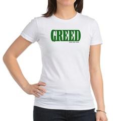 Greed Logo Junior Jersey T-Shirt