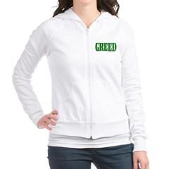 Greed Logo Junior Zip Hoodie