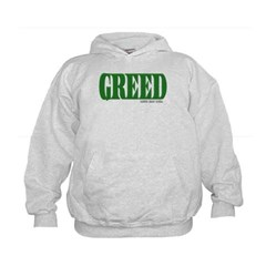 Greed Logo Kids Sweatshirt by Hanes