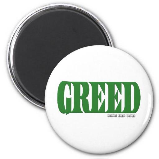 Greed Logo Magnet