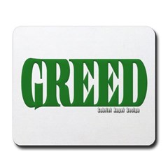 Greed Logo Mousepad