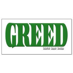 Greed Logo Posters