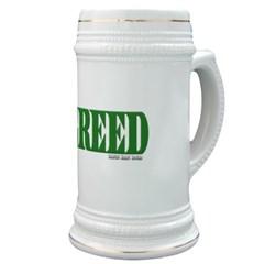 Greed Logo Stein
