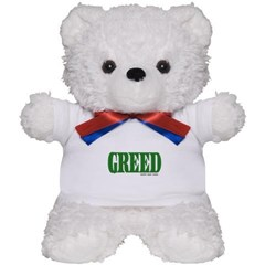 Greed Logo Teddy Bear