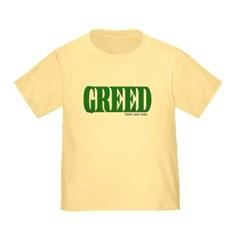 Greed Logo Toddler T-Shirt