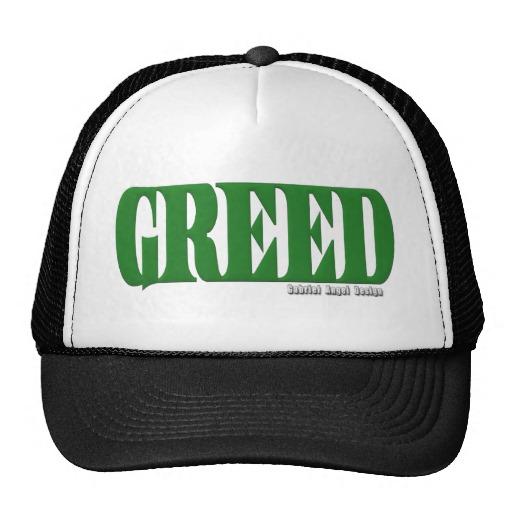 Greed Logo Trucker Hat