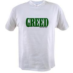 Greed Logo Value T-shirt