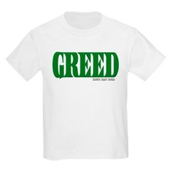 Greed Logo Youth T-Shirt by Hanes
