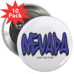 "Nevada Graffiti 2.25"" Button (10 pack)"