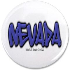 """Nevada Graffiti 3.5"""" Button"""