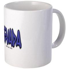 Nevada Graffiti Coffee Mug