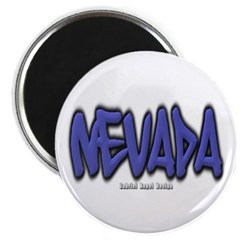 Nevada Graffiti Magnet