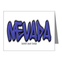 Nevada Graffiti Note Cards (Pk of 20)