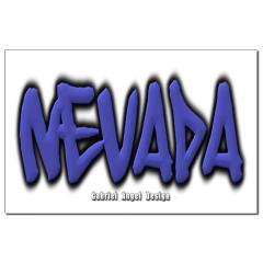 Nevada Graffiti Small Posters