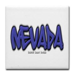 Nevada Graffiti Tile Coaster