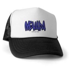 Nevada Graffiti Trucker Hat