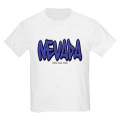 Nevada Graffiti Youth T-Shirt by Hanes