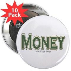 "Money 2.25"" Button (10 pack)"